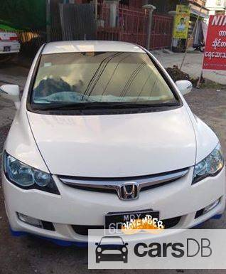 honda civic hybrid 2006 583514 for sale in mahaaungmyay carsdb. Black Bedroom Furniture Sets. Home Design Ideas