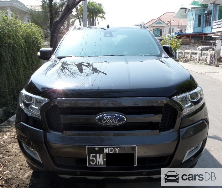 Ford ranger 2016 599234 for sale in chanmyathazi carsdb for Ford motor company 10k 2016
