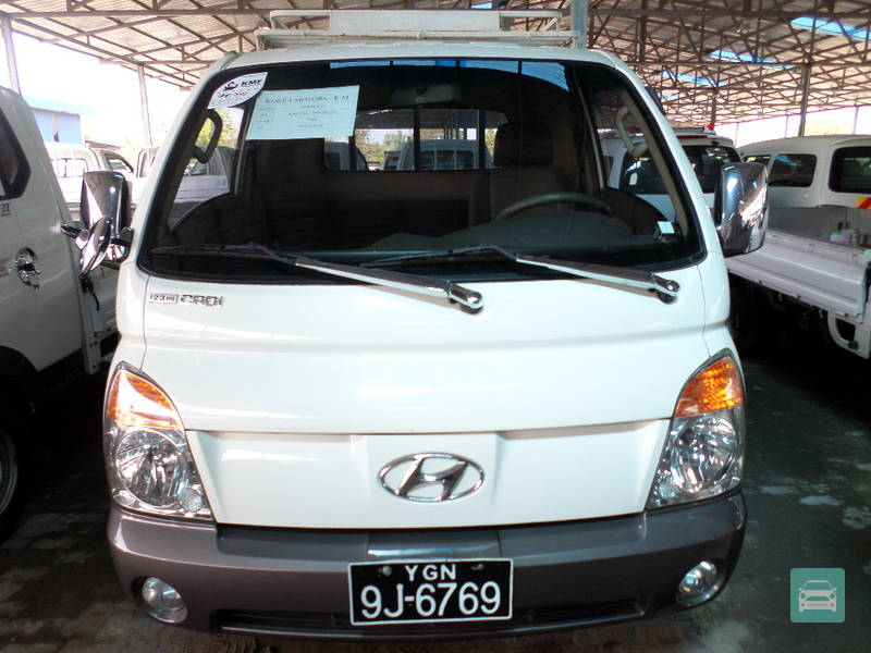 Hyundai porter ii 2006 449071 for sale in mingaladon for Hyundai motor myanmar co ltd